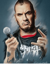 "Happy 50th Birthday to ""Phil Anselmo""  Who was born on this day (June 30,1968)  \m/😈\m/ ART BY: MELANIE D. \m/💀\m/: Happy 50th Birthday to ""Phil Anselmo""  Who was born on this day (June 30,1968)  \m/😈\m/ ART BY: MELANIE D. \m/💀\m/"