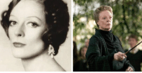 Happy 81st birthday to Dame Maggie Smith! She played McGonagall in the movies. Stay sassy: Happy 81st birthday to Dame Maggie Smith! She played McGonagall in the movies. Stay sassy