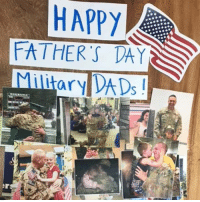 Fathers Day, Thank You, and Happy: HAPPY  ATHER S DAY  MilitaryADs Happy Father's Day to all of the military Dads out there! Thank you for all that you do and the sacrifices you make each and every day for our country!