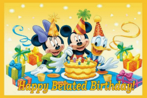 Belated Birthday Wishes, Messages, Greeting & Cards | SayingImages.com: Happy Belated Birthday Belated Birthday Wishes, Messages, Greeting & Cards | SayingImages.com