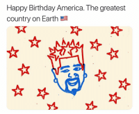 God bless favortown: Happy Birthday America. The greatest  country on Earth God bless favortown