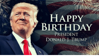 Birthday, Memes, and Happy Birthday: HAPPY  BIRTHDAY  DONALD L TRUMP  PRESIDENT , A very happy 72nd Birthday to our President! 🇺🇸👌🏼@realdonaldtrump