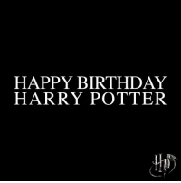 Birthday, Harry Potter, and Love: HAPPY BIRTHDAY  HARRY POTTER + Happy birthday Harry Potter! (And JK Rowling of course 💖) This series means the world to me and i will ALWAYS love it. I was trying to make my own video edit but then my clips just disappeared 🤦🏻♀️ Cr: @harrypotterfilm