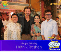 Team #NeelaTeleFilms & team #TMKOC wishes the #Superstar #HrithikRoshan a very #HappyBirthday #HappyBirthdayHrithikRoshan.: Happy Birthday  Hrithik Roshan  #TMR  MON FRI 8:30 P  rar Meijta  GHASHMAH  TMKOC.SABTV Team #NeelaTeleFilms & team #TMKOC wishes the #Superstar #HrithikRoshan a very #HappyBirthday #HappyBirthdayHrithikRoshan.