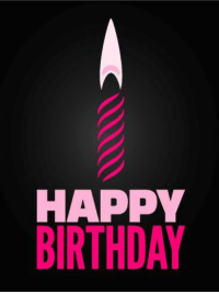 HAPPY  BIRTHDAY https://quotesstory.com/wiches-quotes/birthday-quotes/best-birthday-quotes-pink-candle-happy-birthday-card-make-a-wish-we-hope-its-to-get-this-party/ #BirthdayQuotes