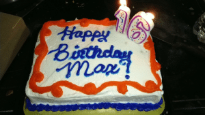 Turned 16 Last Month, but Only Very Recently Got a Cake. I Did Get a Football Game for My Birthday Though. (I'm in Band. And Yes That is an Exclamation Point, not a Question Mark.): Happy  Birthday  map? Turned 16 Last Month, but Only Very Recently Got a Cake. I Did Get a Football Game for My Birthday Though. (I'm in Band. And Yes That is an Exclamation Point, not a Question Mark.)