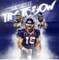 Birthday, Memes, and Nfl: HAPPY BIRTHDAY  NFL Join us in wishing @TimTebow a HAPPY BIRTHDAY! 🎂 https://t.co/iLYSjhfGp0