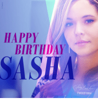 Birthday, Love, and Target: HAPPY  BIRTHDAY  SASHA  FREEFORM prettylittleliars:HAPPY BIRTHDAY to our very own original queen bee, Sasha Pieterse. She's stolen our hearts Alison DiLaurentis, season after season — and we couldn't be more grateful. Sasha, have a day full of happiness + love. 💖