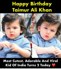 Birthday Wishes To #TaimurAliKhan 👶: Happy Birthday  Taimur Ali Khan  LAUGHINO  Colours  Most Cutest, Adorable And Viral  Kid Of India Turns 2 Today Birthday Wishes To #TaimurAliKhan 👶