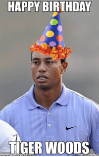 Happy Birthday, Tiger Woods!