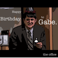 """Oh get out, Skeleton Man""! - Nellie Season 8, Episode 24: ""Free Family Portrait"".: Happy  Birthday  to  Gabe  the office ""Oh get out, Skeleton Man""! - Nellie Season 8, Episode 24: ""Free Family Portrait""."