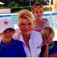 Beautiful, Birthday, and Donald Trump: HAPPY BIRTHDAY TO GRANDMA IVANA  (Mother of Donald Trump Jr, Ivanka & Eric Trump) Let her know about the great job she did as a Mother. She's a beautiful Lady & will forever be loved & respected.