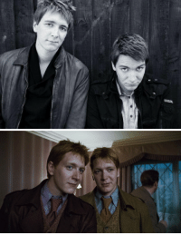 Memes, 🤖, and Fred: Happy birthday to James and Oliver Phelps, who played Fred and George Weasley in the films. Mischief Managed!