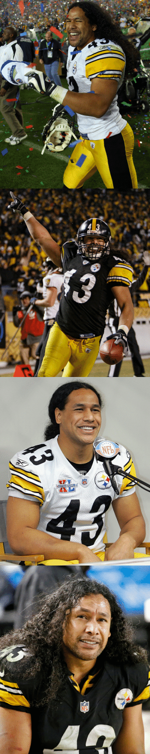 Happy birthday to @steelers legend @tpolamalu! 🎂 2020 @ProFootballHOF inductee 🎂 2x Super Bowl champion 🎂 8x Pro Bowler 🎂 All-time hair https://t.co/A9dpaB3IAq: Happy birthday to @steelers legend @tpolamalu! 🎂 2020 @ProFootballHOF inductee 🎂 2x Super Bowl champion 🎂 8x Pro Bowler 🎂 All-time hair https://t.co/A9dpaB3IAq