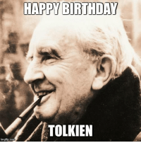 "Memes, The Ring, and Happy Birthday: HAPPY BIRTHDAY  TOLKIEN  imgflip.com Meren aur! Today is the birthday of the grandfather of fantasy himself, J.R.R. Tolkien! Countless works and worlds have been inspired by The Hobbit and Lord of the Rings, including of course Dungeons and Dragons. I've been a fan of Tolkien since I was a little girl, my father reading The Hobbit to me at bedtime and later watching the old animated film. High fantasy is probably my favorite genre of all time, whether reading a story, watching a movie/show, or playing a tabletop.   Any other Tolkien fans out here? Do you take any inspiration from LotR or The Hobbit? Tell us!   -Lady Rheanon   (PS. For the curious, ""meren aur"" is butchered Sindarin for ""joyous day"", since it was the closest thing I could find to ""happy birthday"" in Elvish.)"