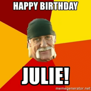 Birthday Julie