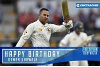 Memes, 30th Birthday, and Aussie: HAPPY BIRTHDAY  USMAN KHAWA JA  O CRICTRACKER  18 12 1986  AUSTRALIA Aussie batsman Usman Khawaja is celebrating his 30th birthday today.