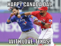 Happy Canada Day. With love, Texas!: HAPPY CANADA DAY  JAY  WITH LOVE TEXAS!  DOWNLOAD MEME GENERATOR FROM  RUNCH COM Happy Canada Day. With love, Texas!