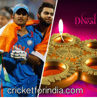 Happy Diwali, #cricketforindia fans! #TeamIndia! Captain #MSD, #Kohli!  www.cricketforindia.com: HAPPY  Cricketforindia.com Happy Diwali, #cricketforindia fans! #TeamIndia! Captain #MSD, #Kohli!  www.cricketforindia.com