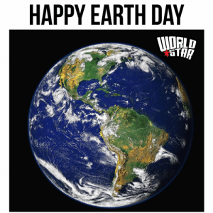 Happy #EarthDay 2020 y'all. Today marks the 50th observance of this day to create public awareness of environmental issues. 🌎🙏💯 https://t.co/WR2UbyPXvI: Happy #EarthDay 2020 y'all. Today marks the 50th observance of this day to create public awareness of environmental issues. 🌎🙏💯 https://t.co/WR2UbyPXvI