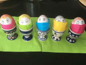 Happy Easter you all, stay home and be safe! Shout-out to my mother-in-law for creativity.: Happy Easter you all, stay home and be safe! Shout-out to my mother-in-law for creativity.
