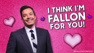 Happy Fallontine's Day from the Tonight Show!: Happy Fallontine's Day from the Tonight Show!