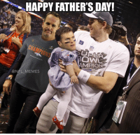Happy Fathers Day Meme: HAPPY FATHER'S DAY!  COW  AMPION  @NFL MEMES