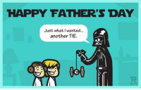 What did you give-get for Father's Day! ? . starwars fathersday happyfathersday darthvader tie tiefighter lukeskywalker princessleia: HAPPY FATHER'S DAY  Just what wanted...  another TIE. What did you give-get for Father's Day! ? . starwars fathersday happyfathersday darthvader tie tiefighter lukeskywalker princessleia