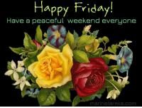 Marinela Reka: Happy Friday!  Have a peaceful weekend everyone  Happy Frida,y!  marinelareka.com Marinela Reka