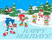 Dank, Happy, and 🤖: Happy Holidays, from all of us at SEGA!