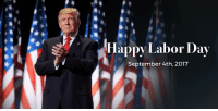 We are building our future with American hands, American labor, American iron, aluminum and steel. Happy #LaborDay!: Happy Labor Day  September 4th, 2017 We are building our future with American hands, American labor, American iron, aluminum and steel. Happy #LaborDay!
