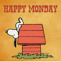 So, it's Monday again.: HAPPY MONDAY  O PNTS So, it's Monday again.