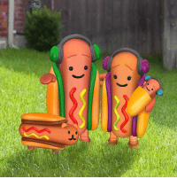 Happy National Hot Dog Day from the whole family.: Happy National Hot Dog Day from the whole family.