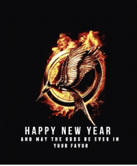 Happy New Year's Eve:) ~peeta~: HAPPY NEW YEAR  AND MAY THE ODDS BE EVER IN  YOUR FAVOR Happy New Year's Eve:) ~peeta~