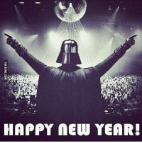Another year, another Star Wars movie. Happy New Years EVE lol: HAPPY NEW YEAR! Another year, another Star Wars movie. Happy New Years EVE lol