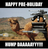HAPPY PRE-HOLIDAY  HUMP DAAAAAYYYH!  ッ A little Pre-holiday Hump Day, CDH-Style.  Be safe out there as the holiday madness officially begins!  Gun Up, Train and Carry  Jon Britton aka DoubleTap