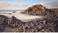 Happy TBT, everyone! Here's a @Science post from the vaults: The Giant's Causeway, a UNESCO World Heritage site, owes its geometric form to the basalt in its columns. The result of an ancient volcanic explosion, these hexagonal columns were formed by the rapid cooling of basalt after flowing through a chalk bed. Although legend claims that this Irish causeway was built by a giant, the over 40,000 columns have a uniformity and structure that only geology could create. The Giant's Causeway is also home to many seabirds, including the cormorant, redshank and razorbill. Photo cred: Stephen Emerson - Alamy Science Geology Ireland BestOf: Happy TBT, everyone! Here's a @Science post from the vaults: The Giant's Causeway, a UNESCO World Heritage site, owes its geometric form to the basalt in its columns. The result of an ancient volcanic explosion, these hexagonal columns were formed by the rapid cooling of basalt after flowing through a chalk bed. Although legend claims that this Irish causeway was built by a giant, the over 40,000 columns have a uniformity and structure that only geology could create. The Giant's Causeway is also home to many seabirds, including the cormorant, redshank and razorbill. Photo cred: Stephen Emerson - Alamy Science Geology Ireland BestOf