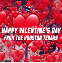 Memes, Valentine's Day, and Houston Texans: HAPPY VALENTINES DAY  FROW THE HOUSTON TEXANS RT @HoustonTexans: Happy #ValentinesDay from @TheKekeCoutee and the #Texans! ❤️️ https://t.co/FuH4raykub