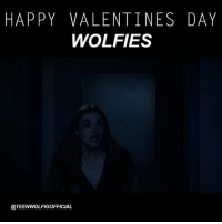 I wish you a story like stiles and lydia 😘🌹: HAPPY VALENTINES DAY  WOLFIES  @TEENWOLFIGOFFICIAL I wish you a story like stiles and lydia 😘🌹