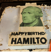 We celebrated his birthday the next day w a delicious almond frosting cake #HamiltonPR https://t.co/R989wvfOzE: HAPPYBIRTHD  HAMILTCO We celebrated his birthday the next day w a delicious almond frosting cake #HamiltonPR https://t.co/R989wvfOzE