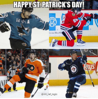 I got depressed while putting Marleau on this but Evander Kane is filling that hole in my heart: HAPPYST. PATRICK'S DAY  12  Cross BlueSl  @nhl ref logic I got depressed while putting Marleau on this but Evander Kane is filling that hole in my heart