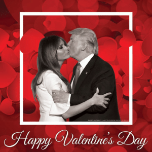 Wish President Trump and First Lady Melania Trump a Happy Valentine's Day! >> https://nrcc.news/2ti2NK4: Hapy Valrlines Day Wish President Trump and First Lady Melania Trump a Happy Valentine's Day! >> https://nrcc.news/2ti2NK4