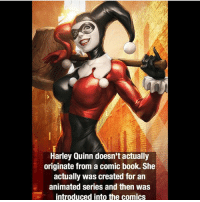 She was just too good 🃏 captainamerica ironman avengers spiderman blackwidow superman marvelcomics joker justiceleague batman theflash supergirl deadpool starwars daredevil infinitywar thor dccomics civilwar harleyquinn facts hulk wolverine xmen wonderwoman greenlantern: Harley Quinn doesn't actually  originate from a comic book. She  actually was created for an  animated series and then was  introduced into the comics She was just too good 🃏 captainamerica ironman avengers spiderman blackwidow superman marvelcomics joker justiceleague batman theflash supergirl deadpool starwars daredevil infinitywar thor dccomics civilwar harleyquinn facts hulk wolverine xmen wonderwoman greenlantern