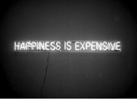 Expensive: HARPINESS IS EXPENSIVE