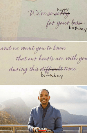 Birthday, Dank, and Memes: harpy  Weresedity  and we want you to knon  that out hearts ate with yoe  duting this difhenlttime  birthday  Dirthday  It's dtime. Yeaahhh!! by sushantawastaken MORE MEMES