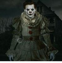 Harry as pennywise: Harry as pennywise