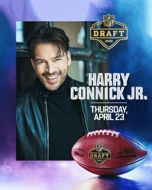 Harry Connick Jr. will perform the National Anthem from his home to kick off the 2020 #NFLDraft virtual festivities!   Tune in on April 23 at 8PM ET to @espn @nflnetwork @abcnetwork @HarryConnickJR https://t.co/5gacBicKTy: Harry Connick Jr. will perform the National Anthem from his home to kick off the 2020 #NFLDraft virtual festivities!   Tune in on April 23 at 8PM ET to @espn @nflnetwork @abcnetwork @HarryConnickJR https://t.co/5gacBicKTy