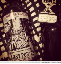 """Memes, Hitler, and Http: HARRY PORTER AND  THE CHERRY HOARDER  ABV= 7.596 IBU = 30  EBOURBON SOAKED VANILLA BEA  TEREFORTE  Hitler hated this site too  MUGGLENET MEMES.COM <p>Harry Porter &amp; the Bourbon Soaked Vanilla Bean!! <a href=""""http://ift.tt/1m2hGV1"""">http://ift.tt/1m2hGV1</a></p>"""