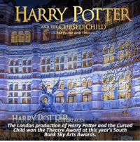 NEWS | Snitch Seeker ⠀⠀⠀⠀⠀⠀⠀⠀⠀⠀⠀⠀⠀ — Q: Have you seen the Cursed Child live? if so did you like it? HarryPotter thecursedchild: HARRY POT TER  AND THE CURSED CHILD  ARTS ONE AND TWO  HARRY  RFACTS  The London production of Harry Potter and the Cursed  Child won the Theatre Award at this year's South  Bank Sky Arts Awards. NEWS | Snitch Seeker ⠀⠀⠀⠀⠀⠀⠀⠀⠀⠀⠀⠀⠀ — Q: Have you seen the Cursed Child live? if so did you like it? HarryPotter thecursedchild