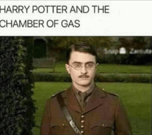 Harry Potter, Potter, and Harry: HARRY POTTER AND THE  CHAMBER OF GAS  SapZ What sorcery is this.
